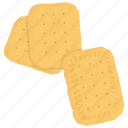 baked food, biscuits, crackers, cutout cookies, vanilla biscuits icon