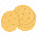biscuit, confectionery, patty, peanut butter cookie, sweet food icon