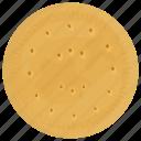 bakery food, brown sugar cookie, gingersnap cookie, shortbread, sweet snack icon