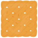 baked food, biscuits, cracker, cutout cookies, vanilla biscuits icon