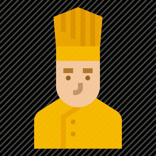 Chef, cook, cooker, kitchen, restaurant icon - Download on Iconfinder