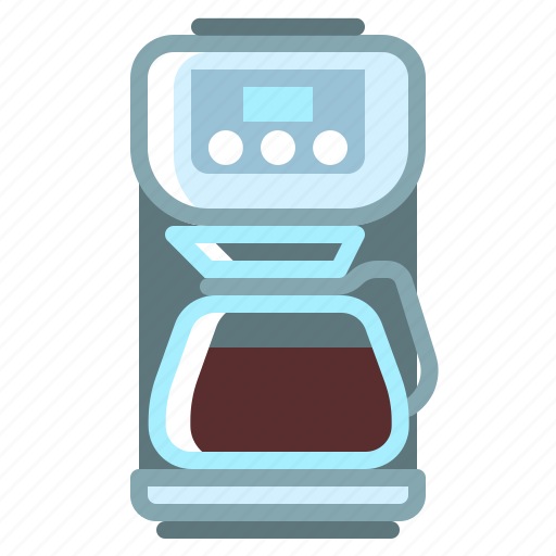 coffee, cup, drink, hot, machine icon