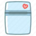freezer, fridge, kitchen, refrigerator icon