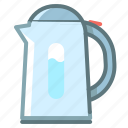 coffee, kettle, kitchen, teapot icon