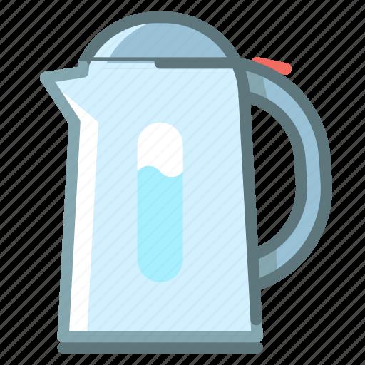 coffee, kettle, kitchen, teapot icon