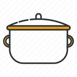 boil, boiling, cook, cooking, cooking pot, kitchen, pot icon