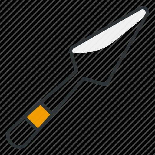 baking, cake, kitchen, spatula, utensil icon