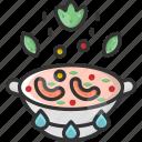 cooking, cooking pot, hot, pasta