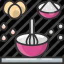 bowl, cooking, food, ingredients, mixing