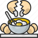 cooking, egg, food, mix, mixing