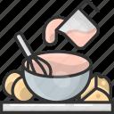 stir, mix, bowl, mixing