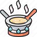 cooking, hot, pan, pot