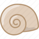 cooking, food, gastronomy, ingredient, shelfish, snail, yumminky icon