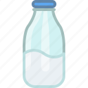 cooking, drink, food, gastronomy, ingredient, milk, yumminky icon