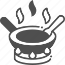 cooking, hot, pan, pot icon