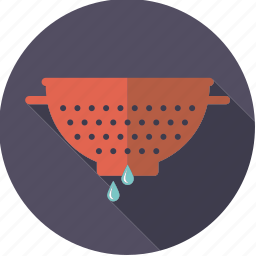 colander, cooking, equipment, household, kitchen, utensil icon