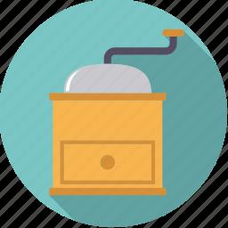 coffee, equipment, grinder, household, kitchen icon
