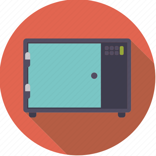 appliance, cooking, equipment, kitchen, microwave, oven icon