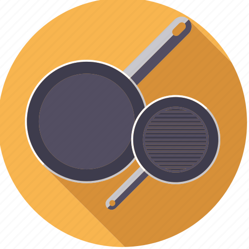 cooking, equipment, household, kitchen, pans, utensil icon