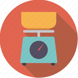 cooking, equipment, household, kitchen, scales icon