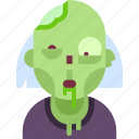 avatar, dead, helloween, monster, undead, zombi, zombie icon