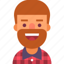 avatar, beard, guy, llumbersexual, man, plaid, shirt