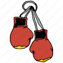 accessory, boxing, fashion, game, gloves, sport, training icon