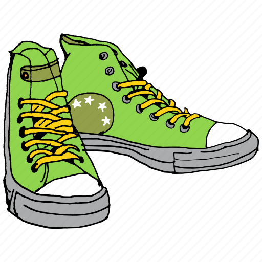 clothing, dress, fashion, punk, shoe, shoes, sneakers icon