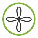 blades, copter, drone, nanocopter, quadcopter icon