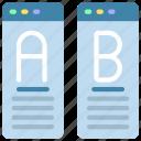 ab, testing, test, tests icon