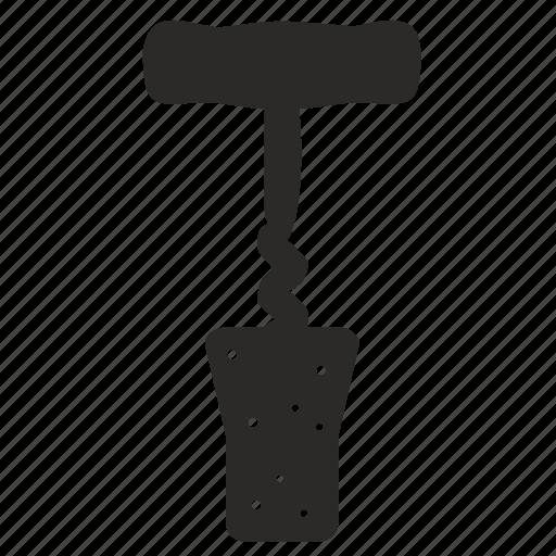 cork, corkscrew icon