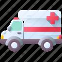 ambulance, emergency, healthcare, hospital, medical