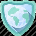 badge, earth, globe, save, the, world