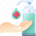 clean, cleaner, disinfectant, hand, wash icon