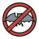 animal, avoid, bat, corona, coronavirus, dont, eating icon