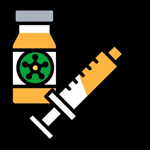 Corona, drugs, injection, syringe, vaccine icon - Free download