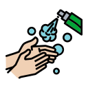 anti, bacterial, bottle, germs, hand, killer, spray icon