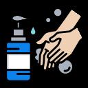 coronavirus, covid, hand, healthcare, wash, washing, water icon