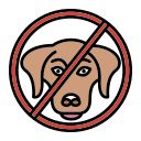 baned, germs, not, pet, touch icon