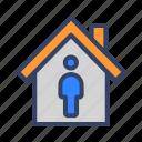 building, coronavirus, covid19, house, isolation, stay at home, virus