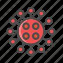 color, corona, covid, icon, icons, vector, virus icon