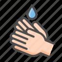 alcohol, color, corona, covid, hand washing, icons, vector, virus icon