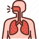 bacteria, corona virus, cough, covid19, infected, sick, virus icon