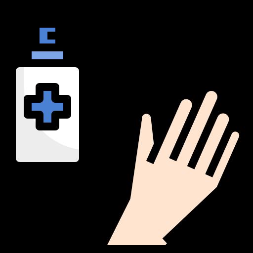 alcohol, clean, hand, protection, sanitizar, spray, virus icon