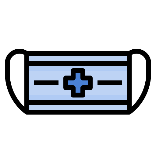 Mask, medical, protection, respiratory, surgical icon - Free download