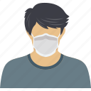 avatar, coronavirus, covid19, face, man, mask