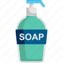 wash, cleaning, soap, clean, hand wash icon