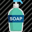 clean, cleaning, coronavirus, hand wash, soap, wash icon