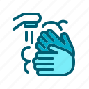 clean, hand, hygiene, soap, wash icon