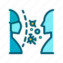mask, medical, pollution, protection, virus icon